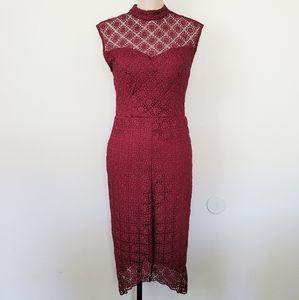 Bisou Bisou Michele Bohbot crochet dress 4